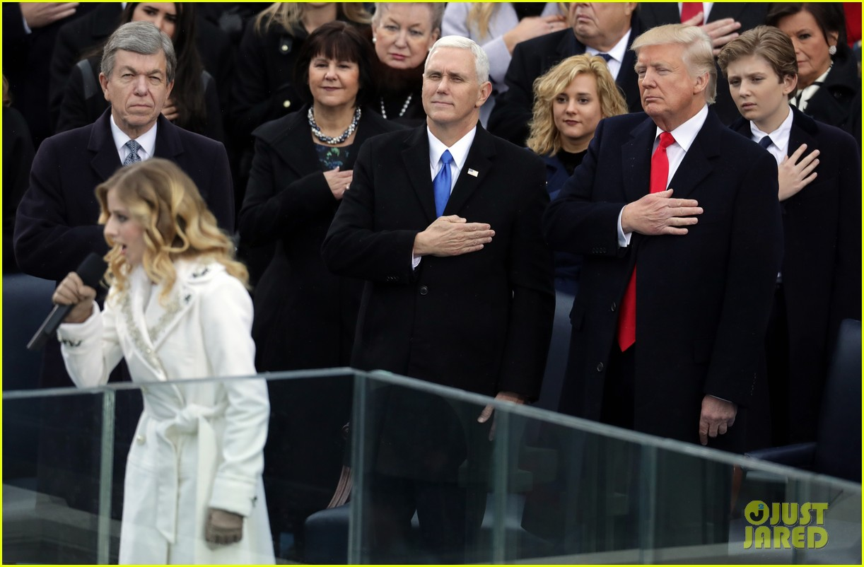 jackie evancho performs national anthem inauguration 04