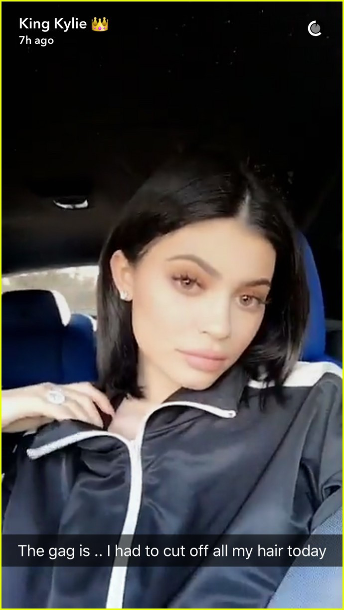 Kylie Jenners New Haircut Reminds Us That Bad Hair Days Can Be A