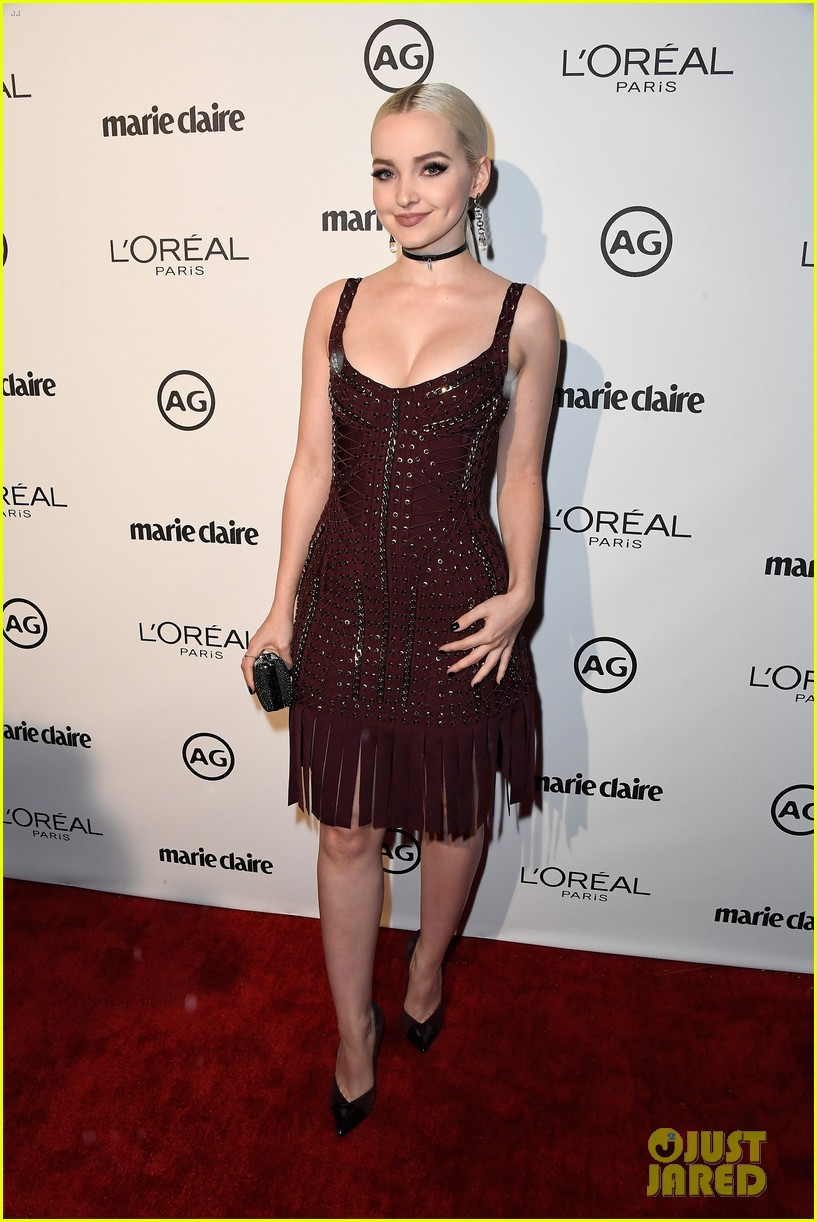 kylie jenner olivia holt dove cameron marie claire event 08