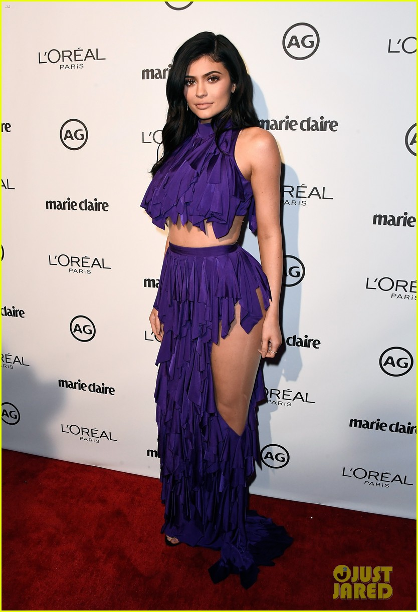 kylie jenner olivia holt dove cameron marie claire event 11
