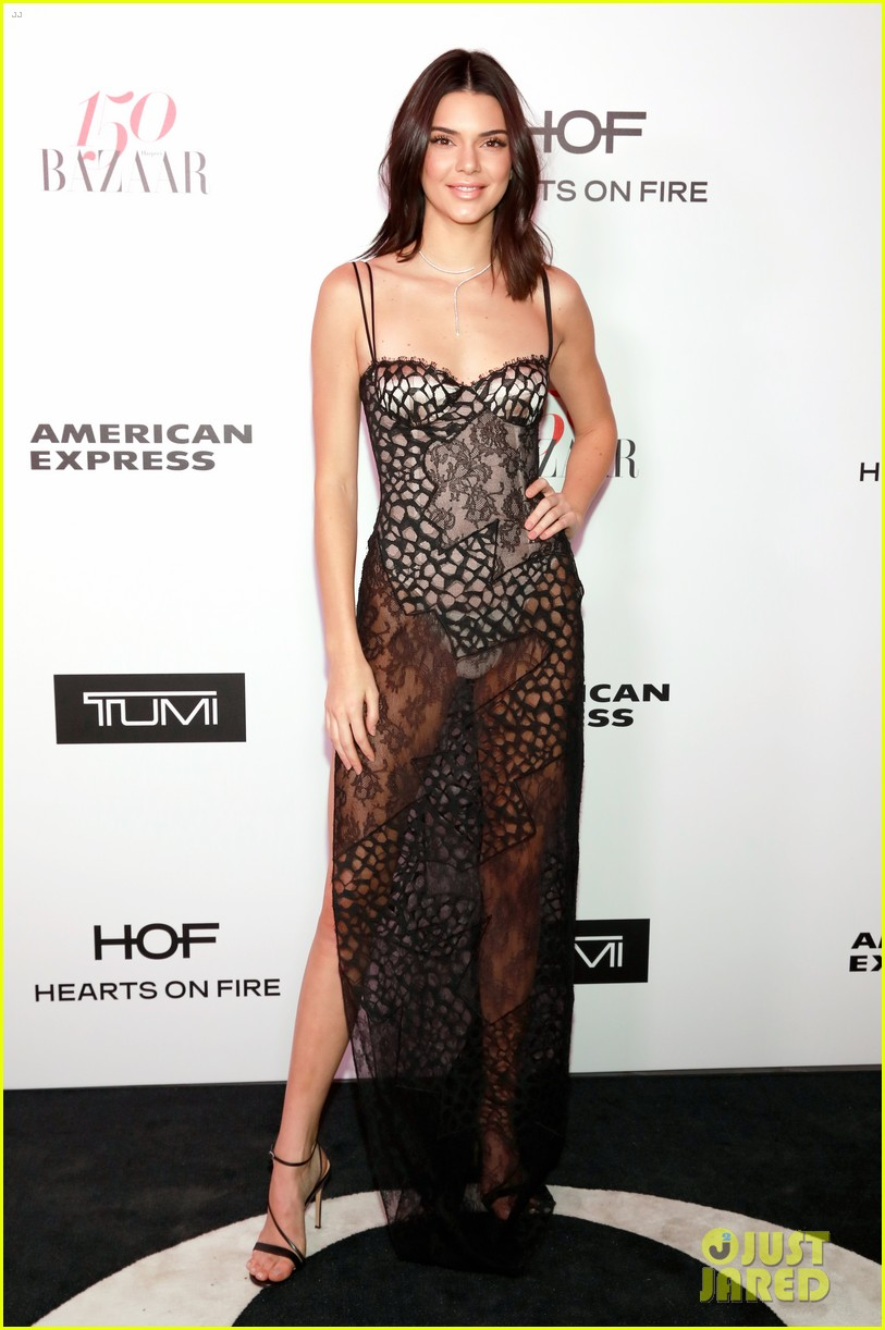 kendall jenner harpers bazaar fashionable women event 01