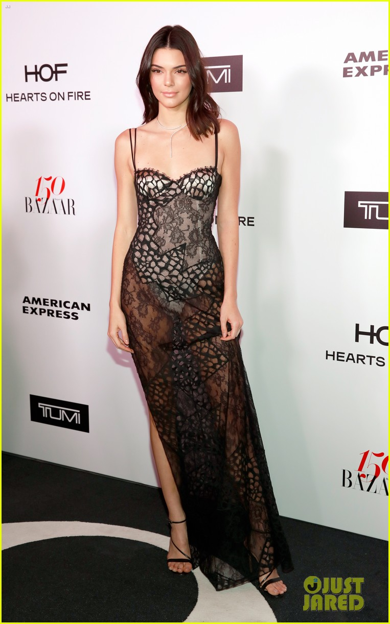 kendall jenner harpers bazaar fashionable women event 06