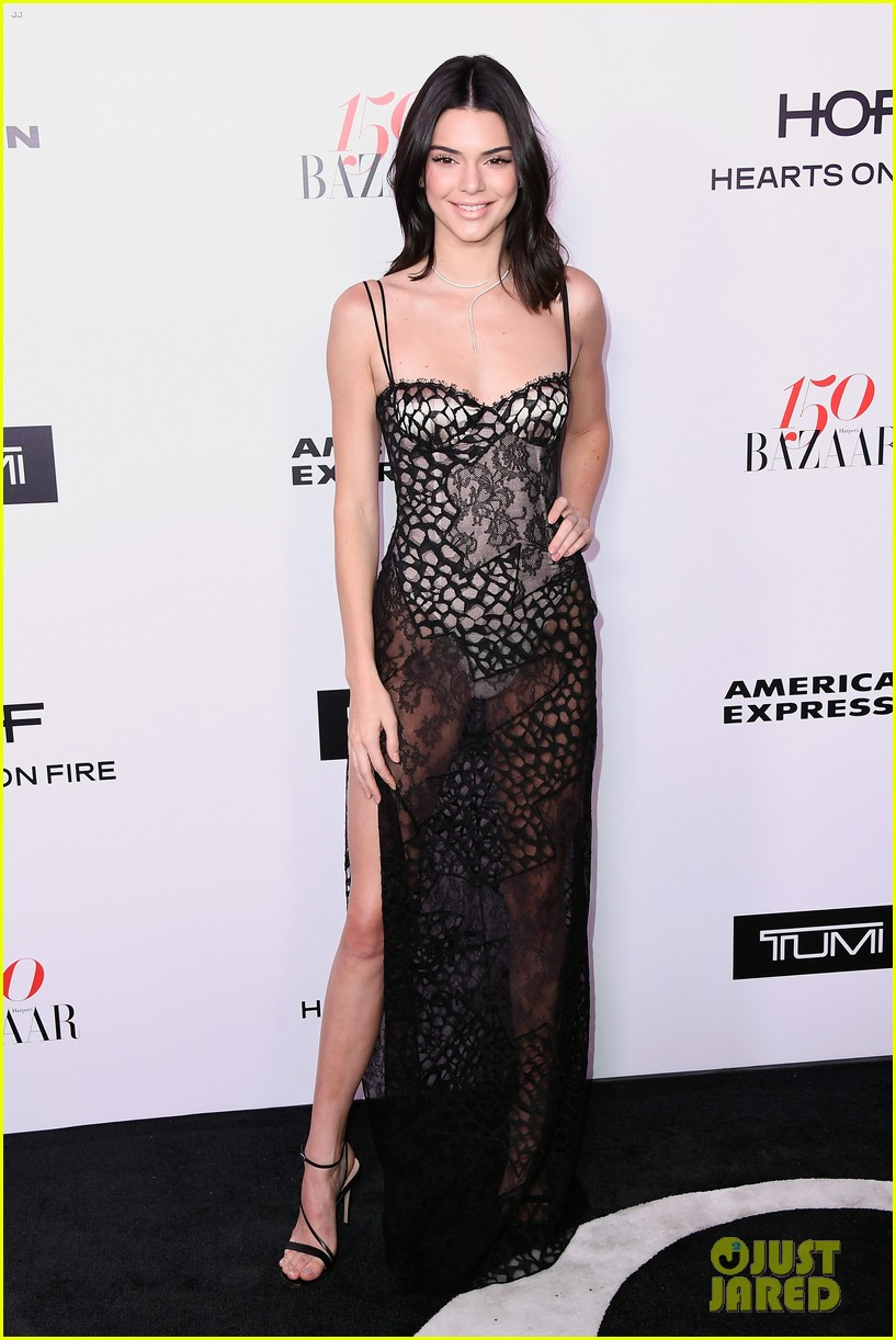 kendall jenner harpers bazaar fashionable women event 08