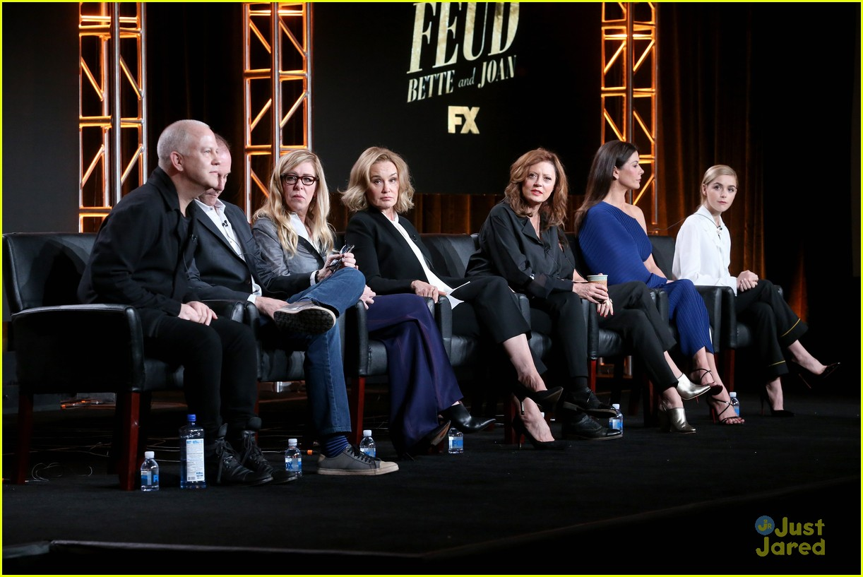 kiernan shipka new show feud tca panel 01
