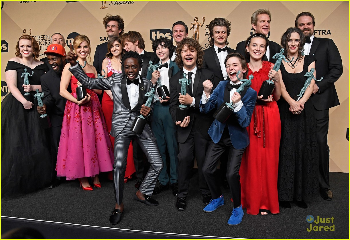 The Gifs From Stranger Things Sag Awards Win Will Make