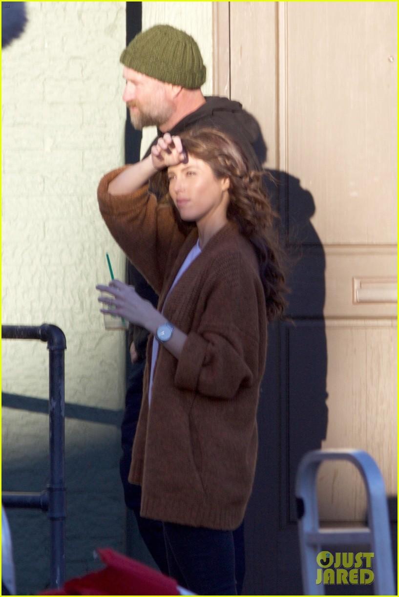 paul wesley kat graham continue filming vampire diaries 03
