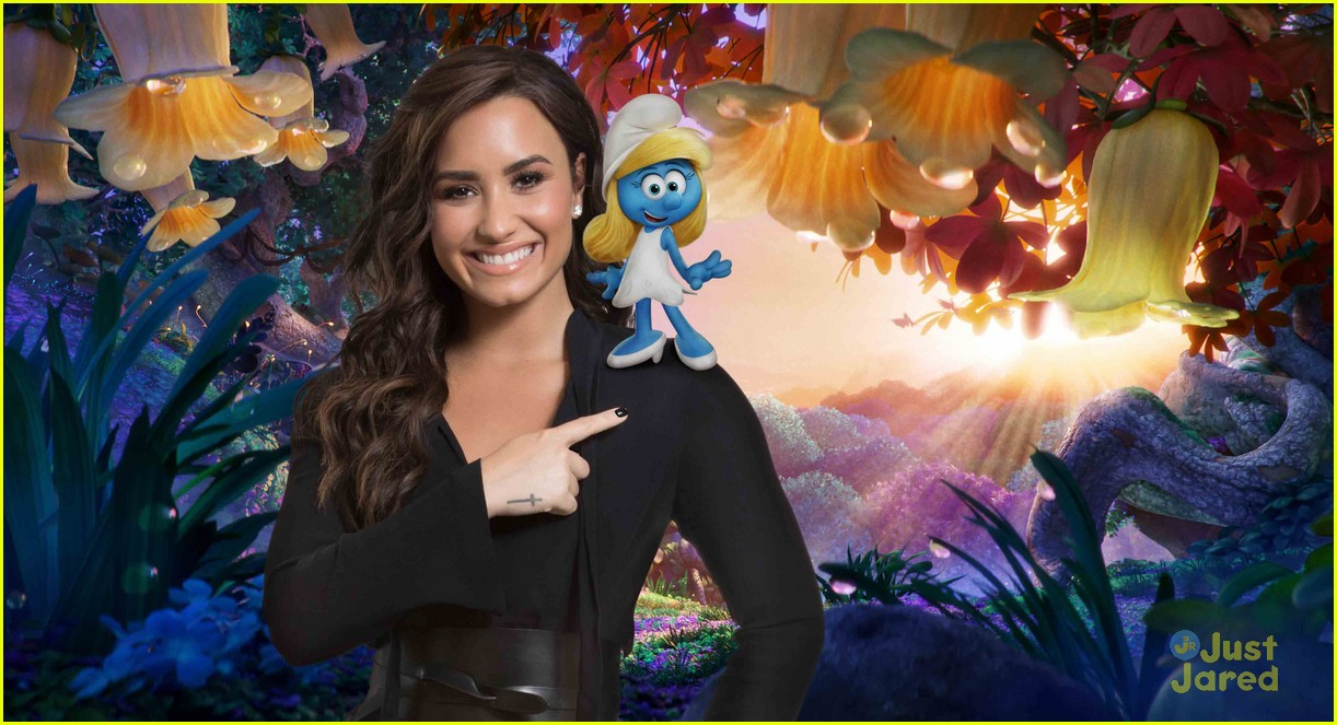 ariel winter demi lovato smurfs character images 04