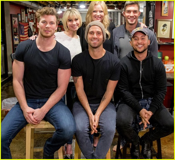 baby daddy cast gets matching tattoos to celebrate 100th episode