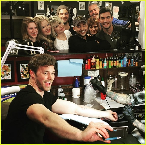baby daddy cast tattoos 100th episode 05