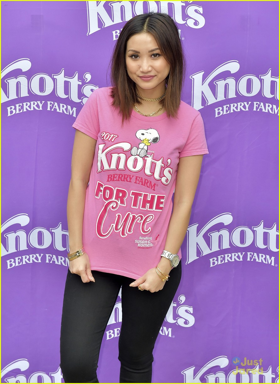 brenda song knotts for cure event 08
