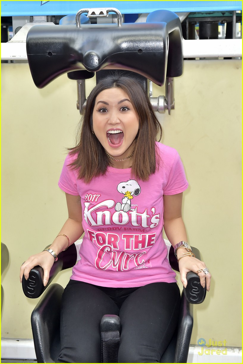 brenda song knotts for cure event 15