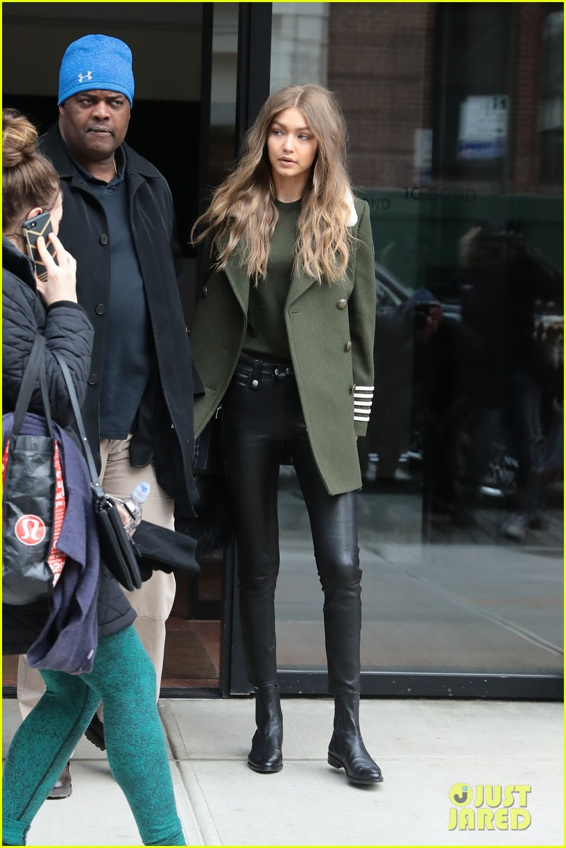 gigi bella hadid step out separately 11
