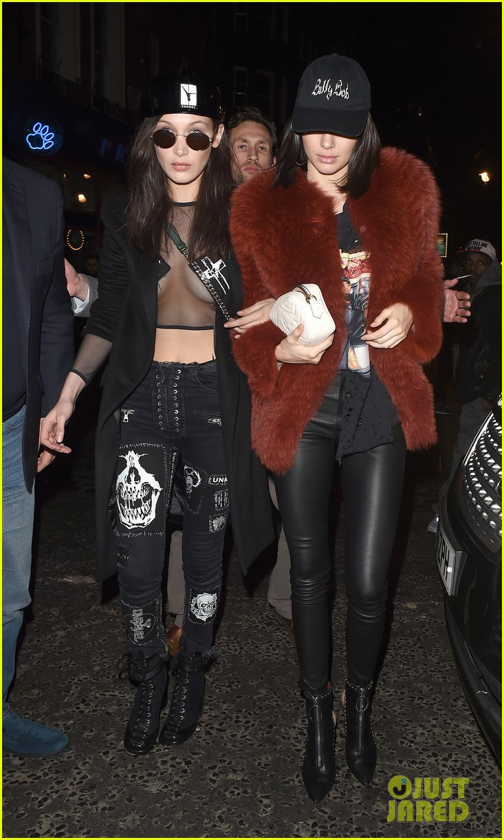 kendall jenner gets in fun before london fashion week shows 03
