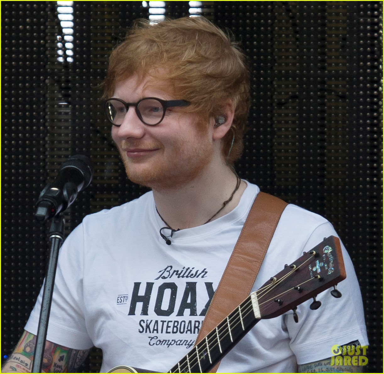 84ae4f91 Ed Sheeran Wasn't Too Pleased With Donald Trump Singing 'Shape of ...