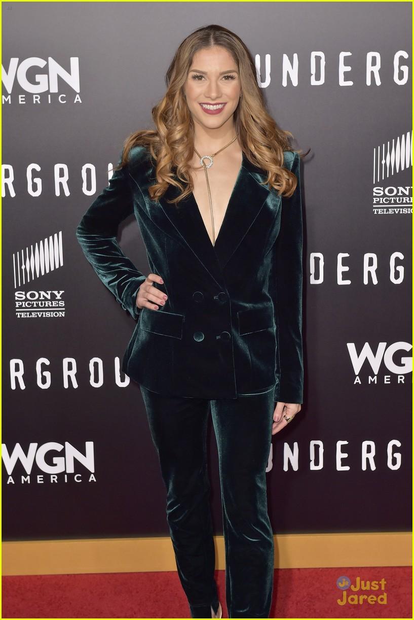 Watch Allison holker at underground tv series season 2 premiere in los angeles video