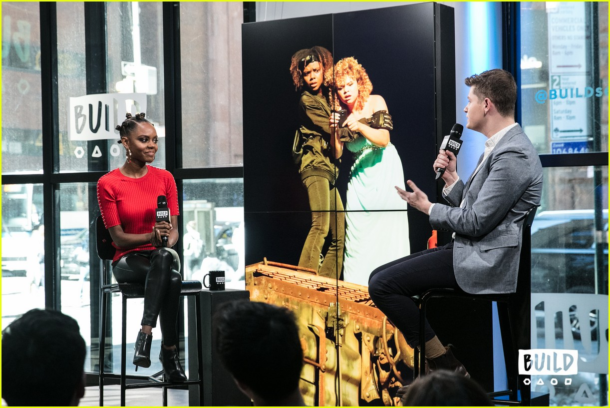 ashleigh murray aol studios nyc 15