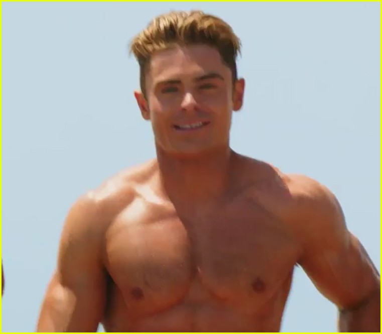 zac efron the rock baywatch trailer 02