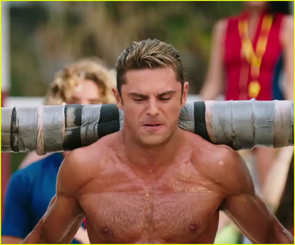 zac efron the rock baywatch trailer 04