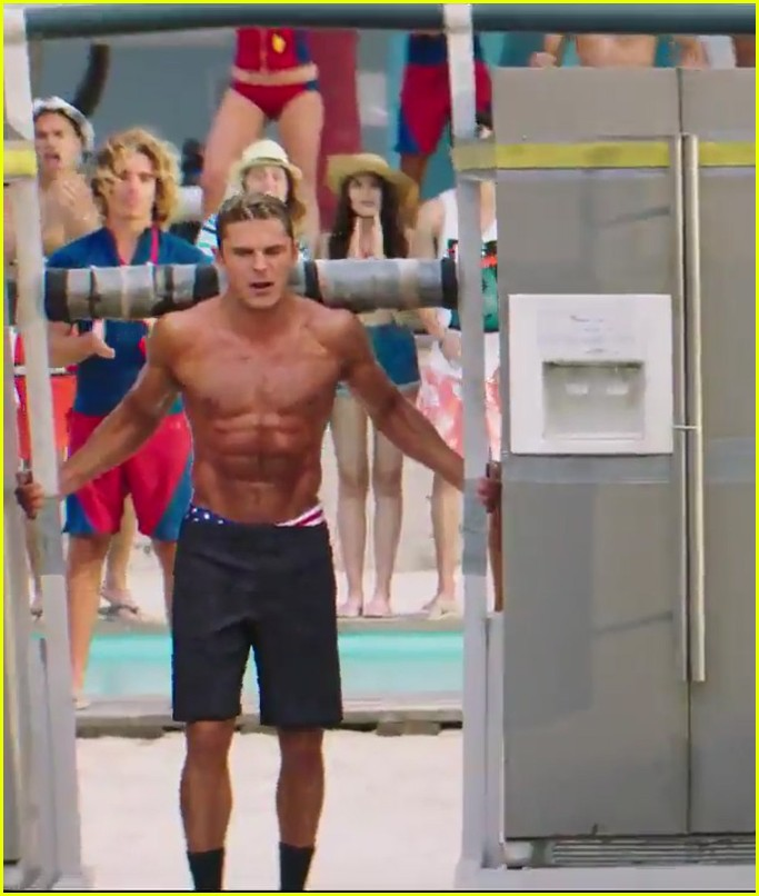 zac efron the rock baywatch trailer 05