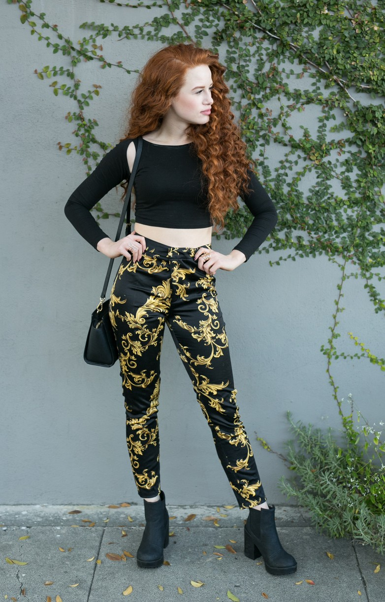 madelaine petsch curly red hair new book 01