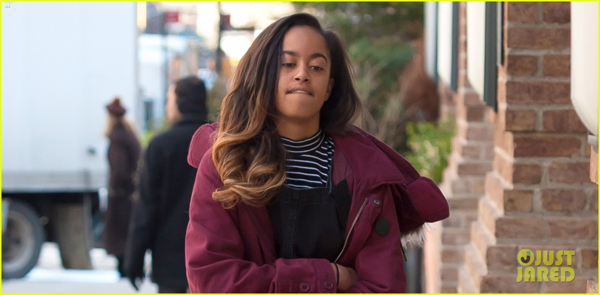 malia obama gets back to work on monday 03