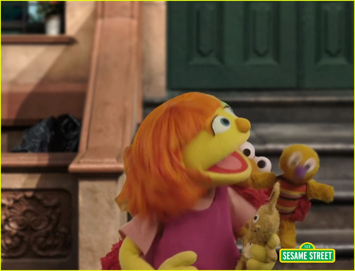 character with autism sesame street 01