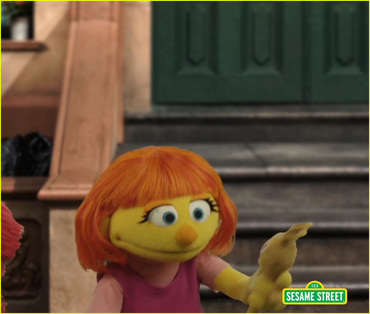 character with autism sesame street 02