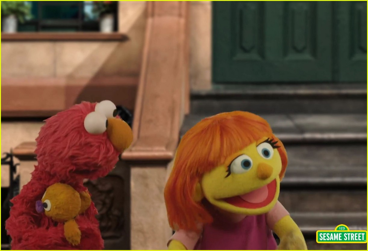 character with autism sesame street 05