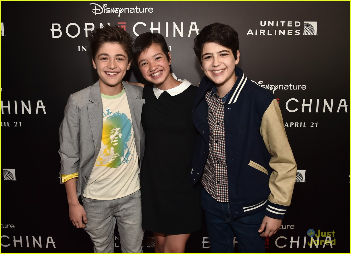born in china premiere andi mack sitm mech casts attend 02
