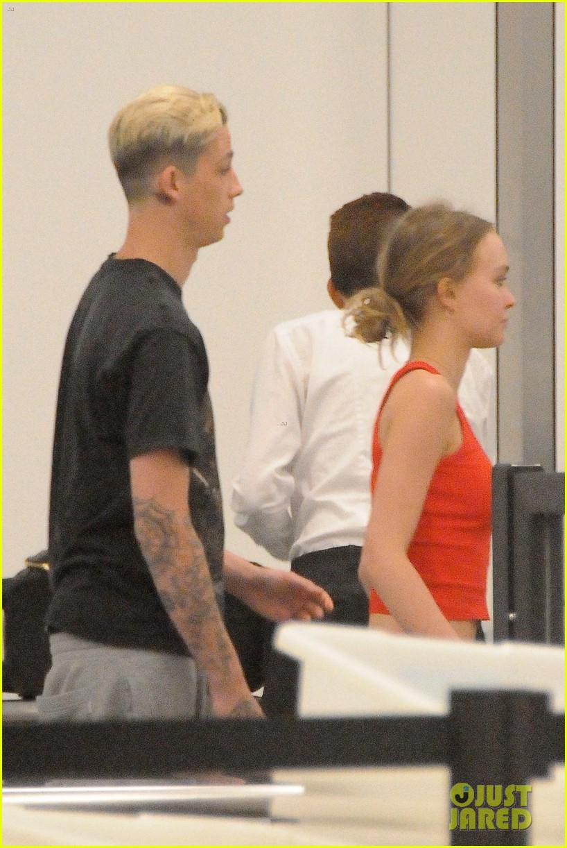 lily rose depp and ash stymest head out of town for a getaway 02