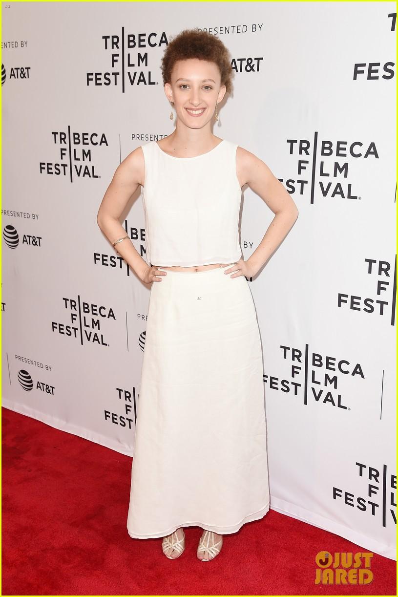 zoey deutch premieres new movie flower at tribeca film festival 04