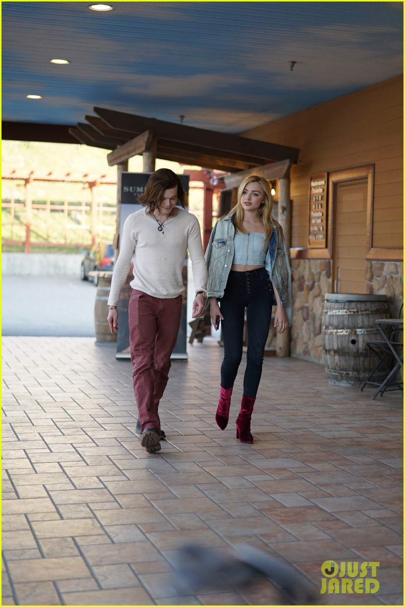 peyton list costar hang offset of their new ya thriller 02