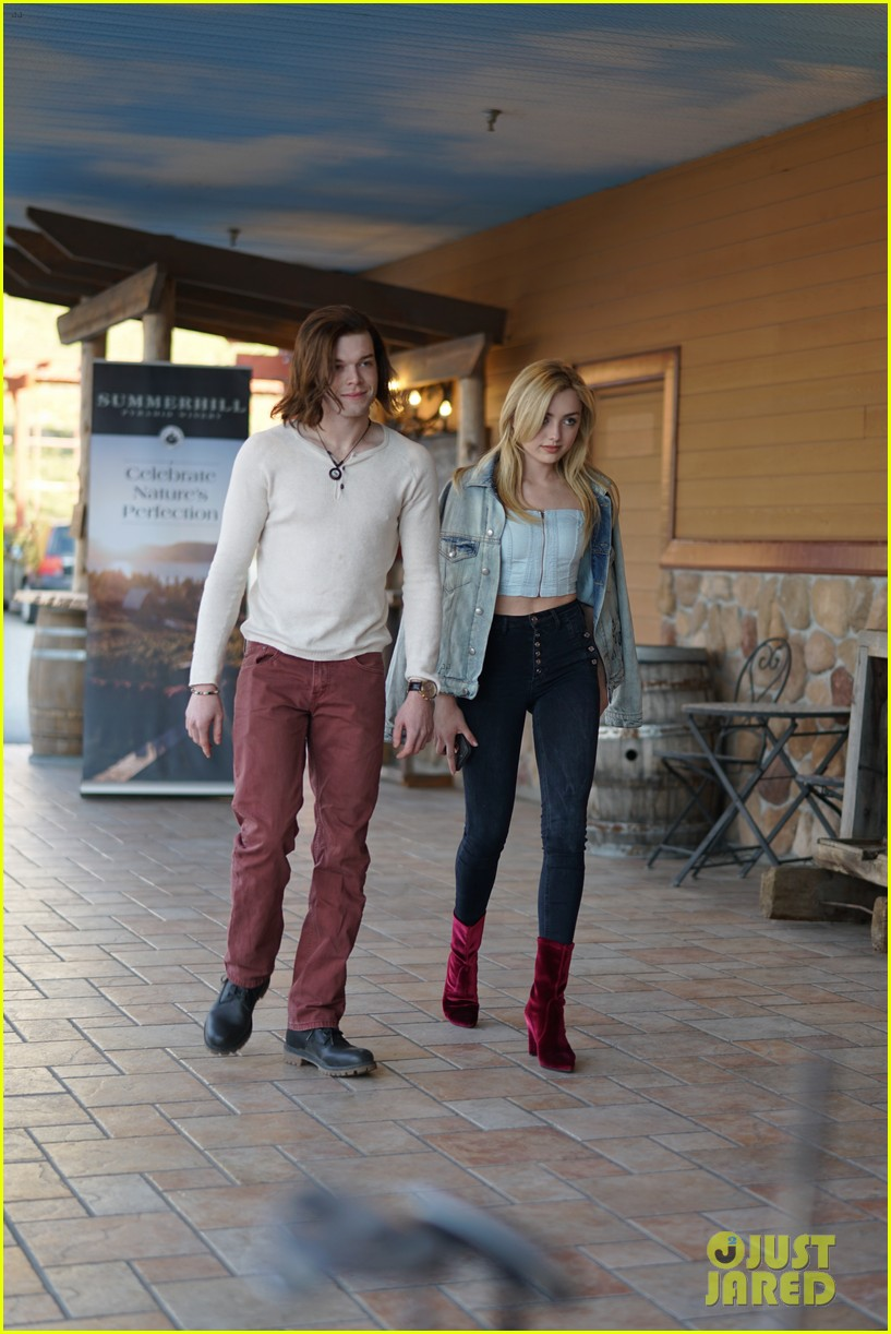peyton list costar hang offset of their new ya thriller 03