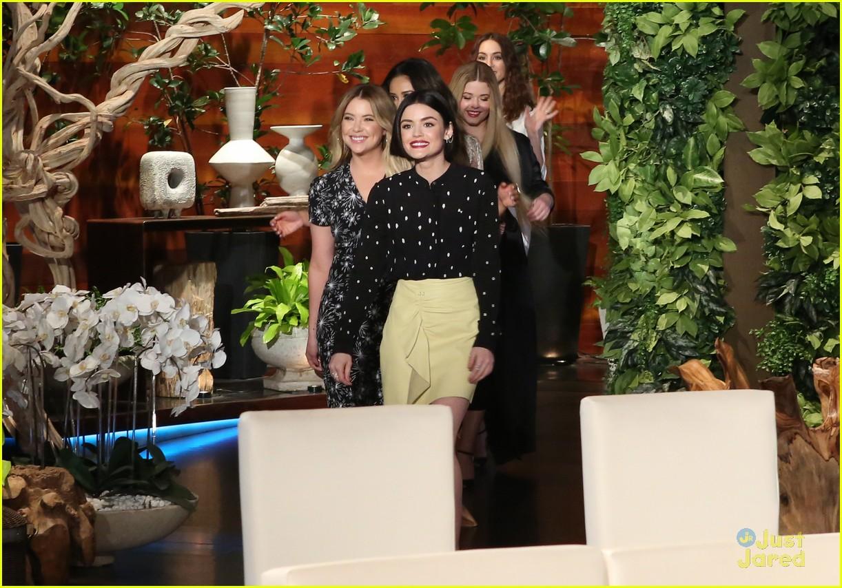 Pll Cast Ellen Appearance Today Lucy Pet Store Run 05