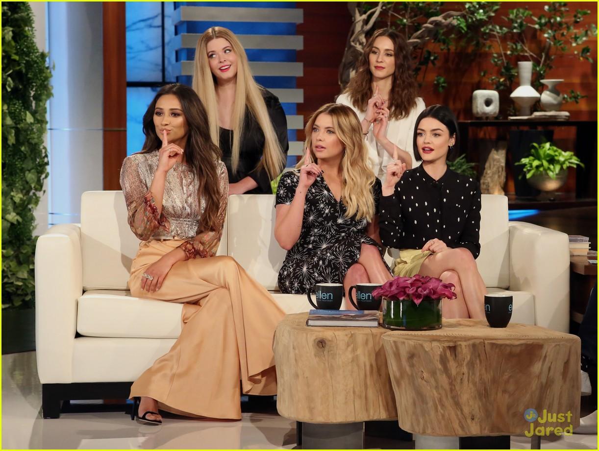 Pll Cast Ellen Appearance Today Lucy Pet Store Run 07