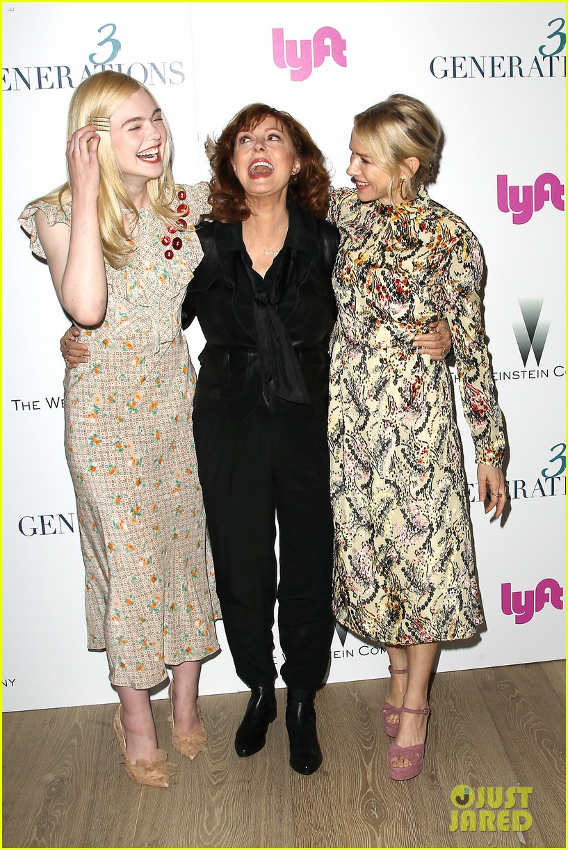 susan sarandon surrounded by costars 3 generations screening 02