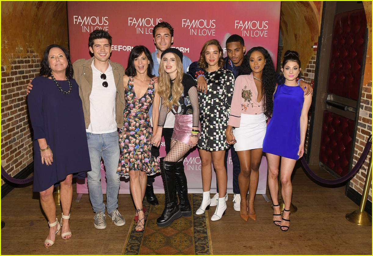 famous in love bella thorne nyc press 03