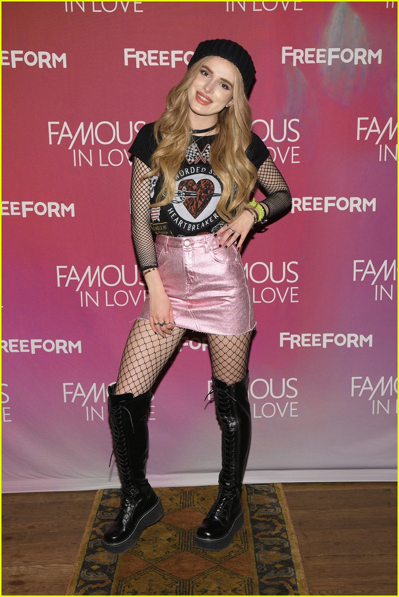 famous in love bella thorne nyc press 05