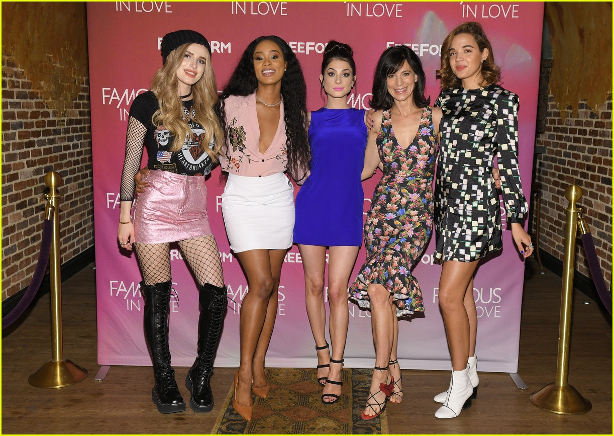 famous in love bella thorne nyc press 14
