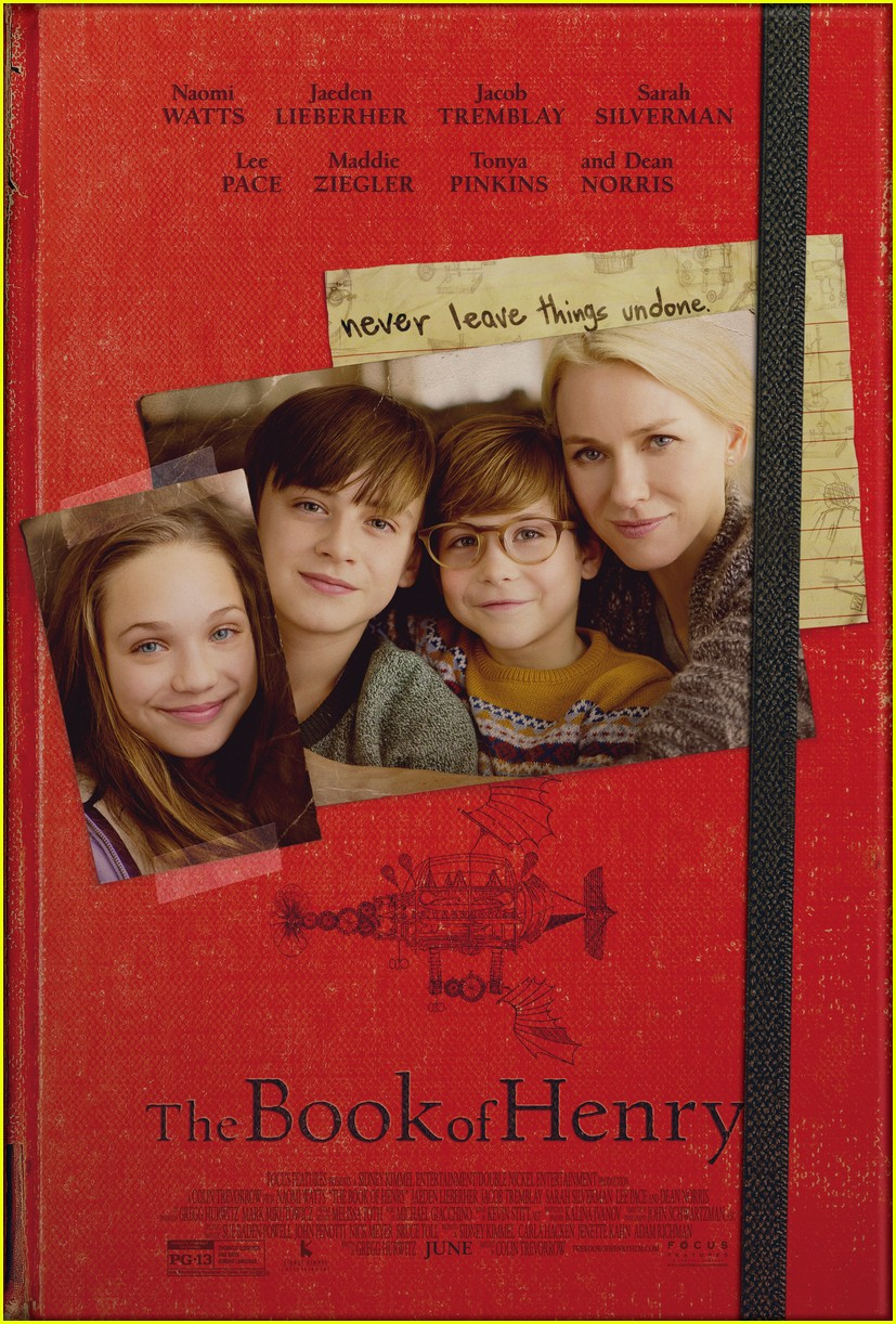 naomi watts is a loving mother in official book of henry poster 01