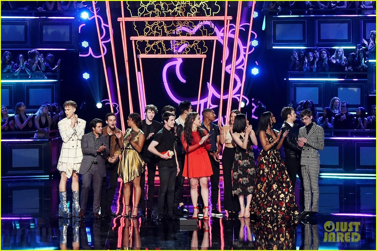 alisha boe 13 reasons why full cast mtv awards 12