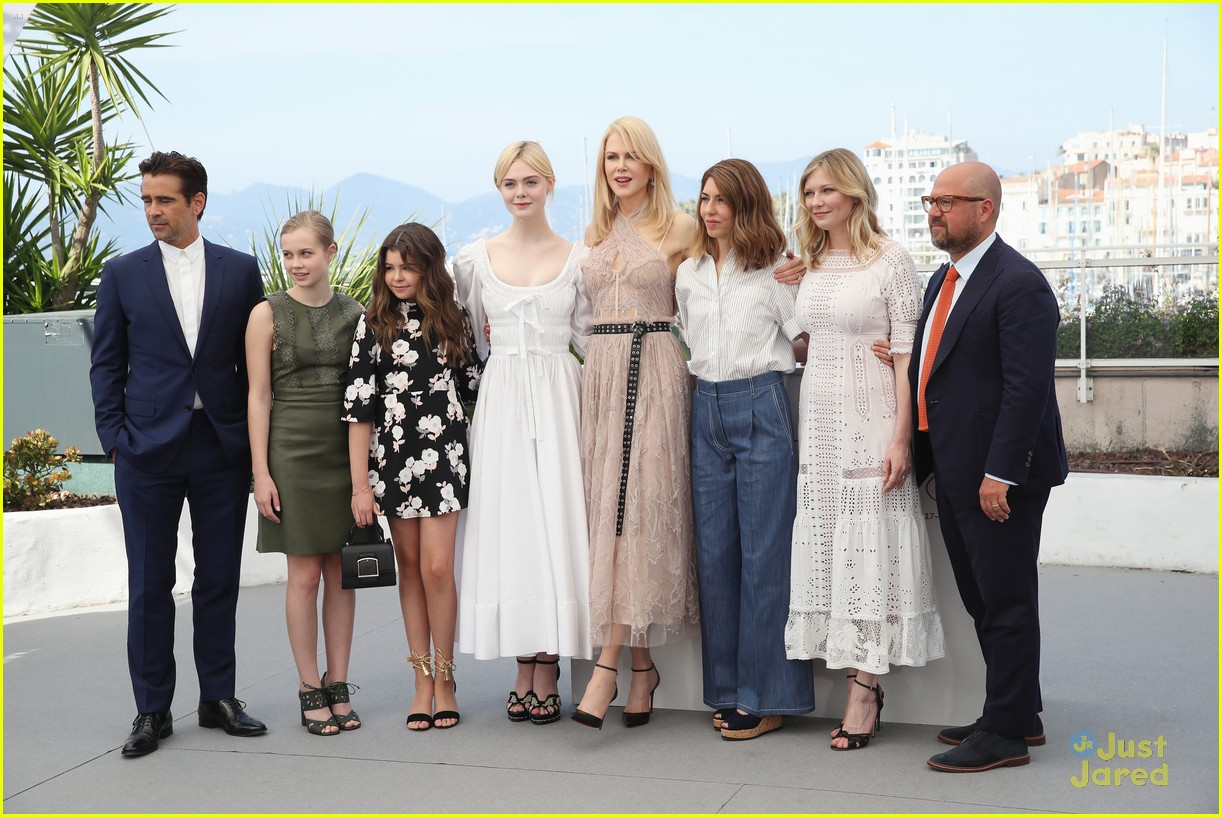 addison riecke anjourie rice elle fanning beguiled cannes premiere 09