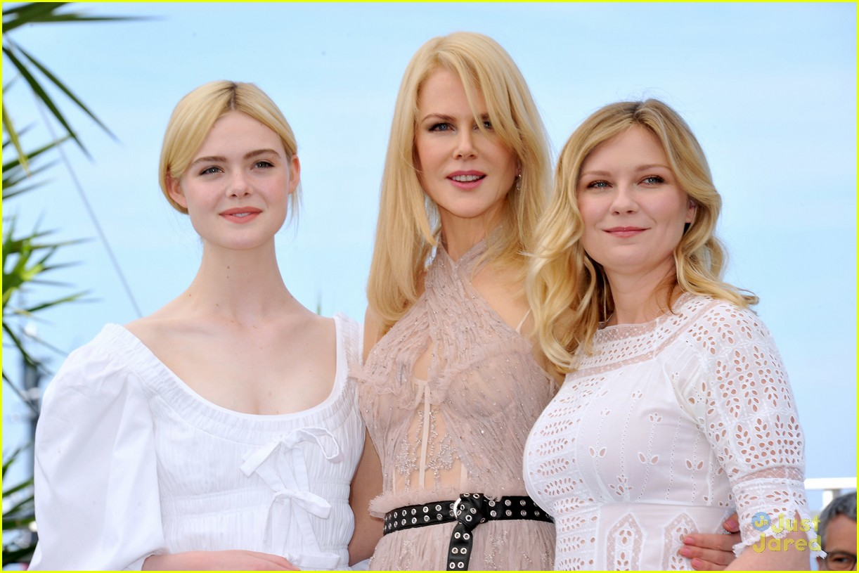 addison riecke anjourie rice elle fanning beguiled cannes premiere 15