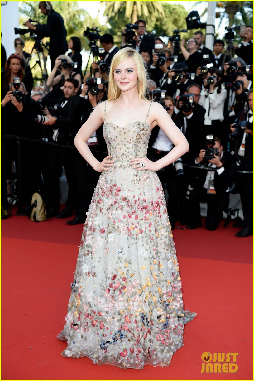 elle fanning ashley benson cannes 2017 anniversary celebration 03