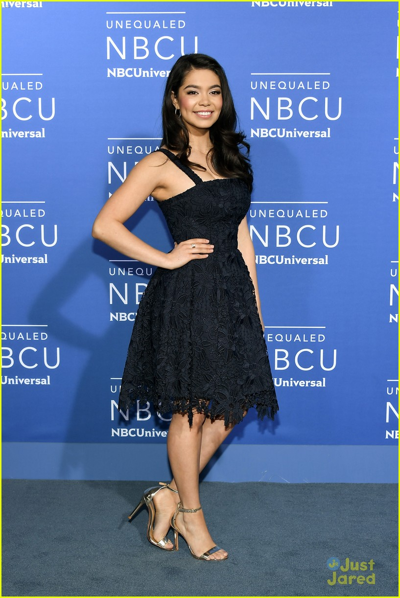 aulii cravalho mae whitman nbc upfronts 13