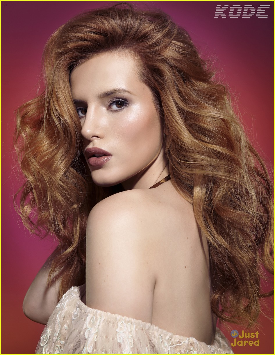 bella thorne kode mag interview blond curls 01