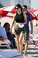 zac efron alexandra daddario hang out poolside in miami 05