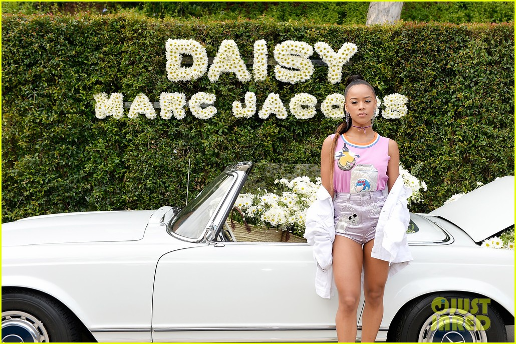kaia geber marc jacobs daisy fragrance launch 14