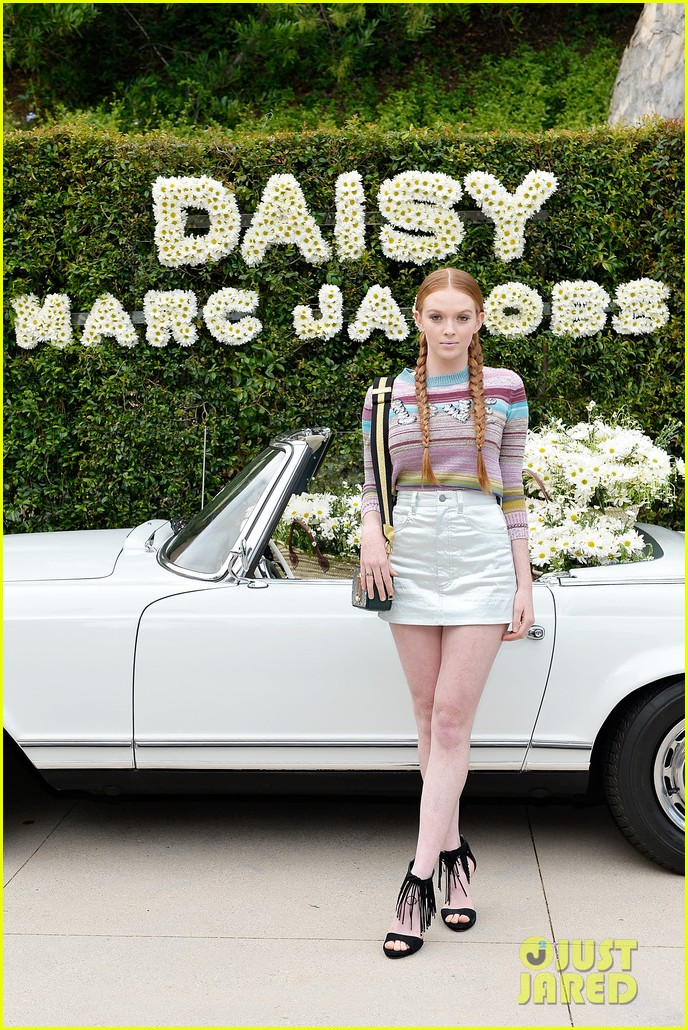 kaia geber marc jacobs daisy fragrance launch 16