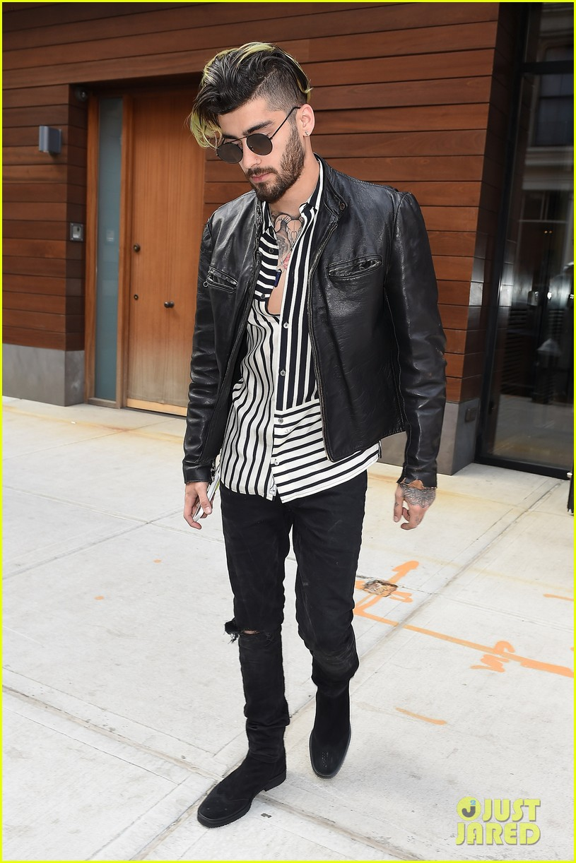 zayn malik spends time with gigi hadid after her work meeting 06